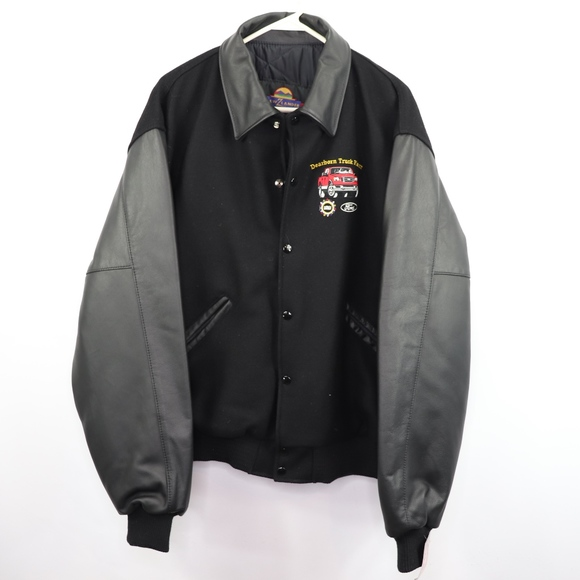 1edcf9f30 Vintage 90s New Ford Mens XL Varsity Bomber Jacket NWT